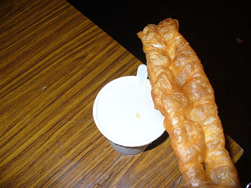 Cruller and Soy Milk  油条和豆奶