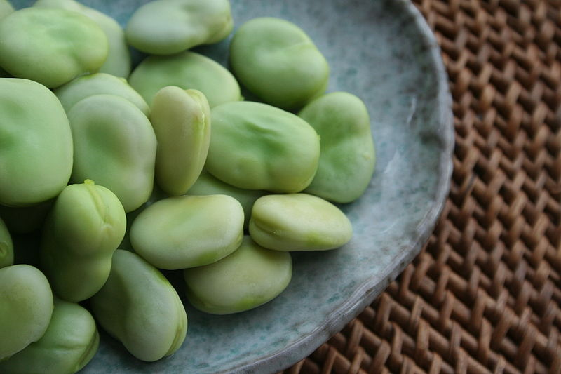 Steamed Broad Beans