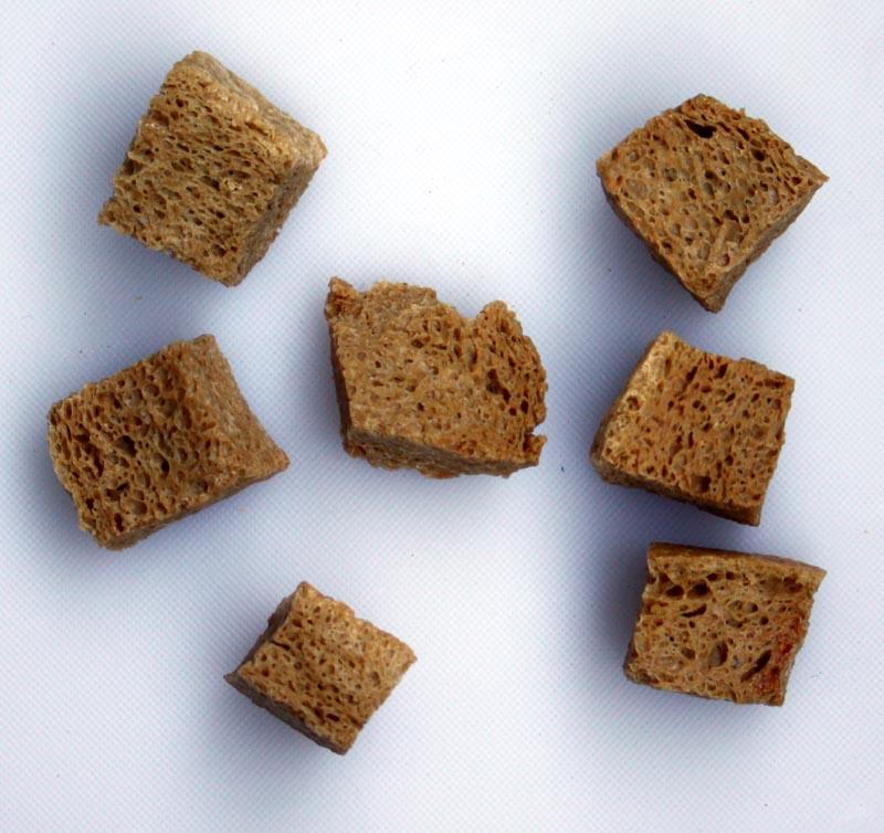 Dehydrated Baked Wheat Gluten