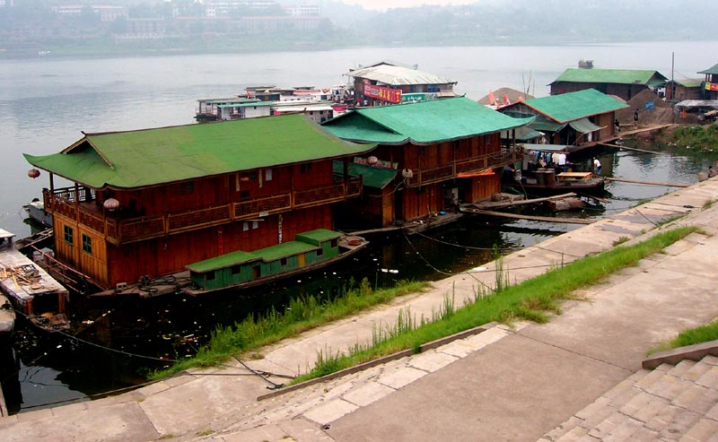 Houseboat (and Shopboat)  - Yuanling, Hunan