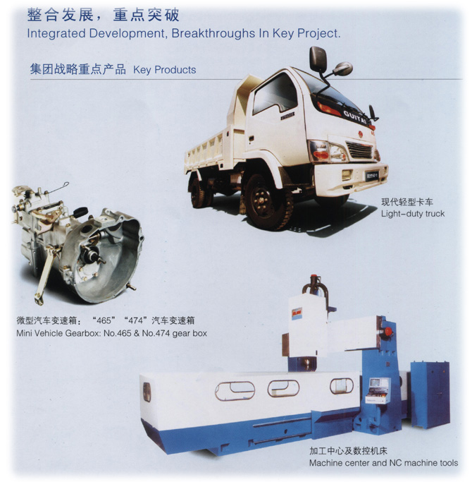 Zhengling Group main products