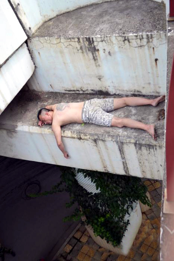 Sleeping Man Puzzled Over Lost Clothes And Fireman Rescue