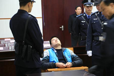 Hu Ping sentenced to death.