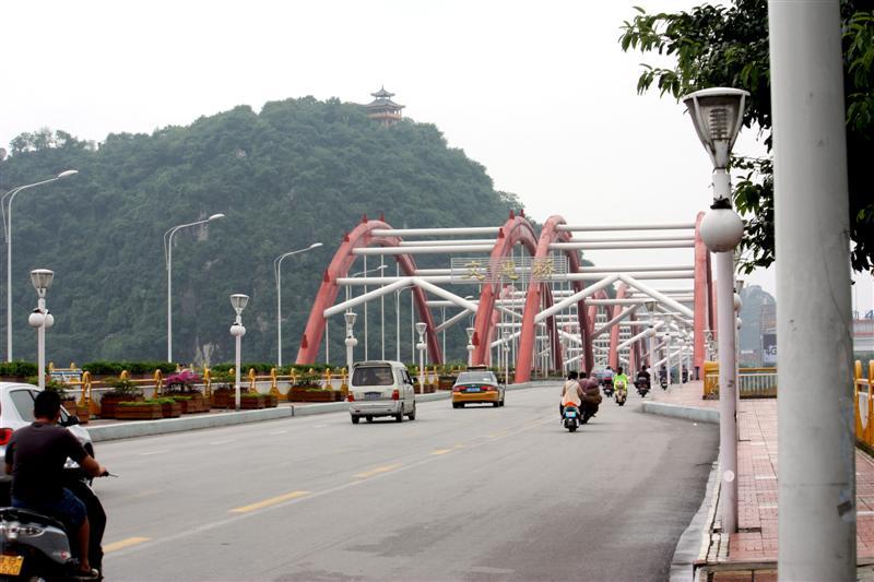 Wenhui Bridge looking south