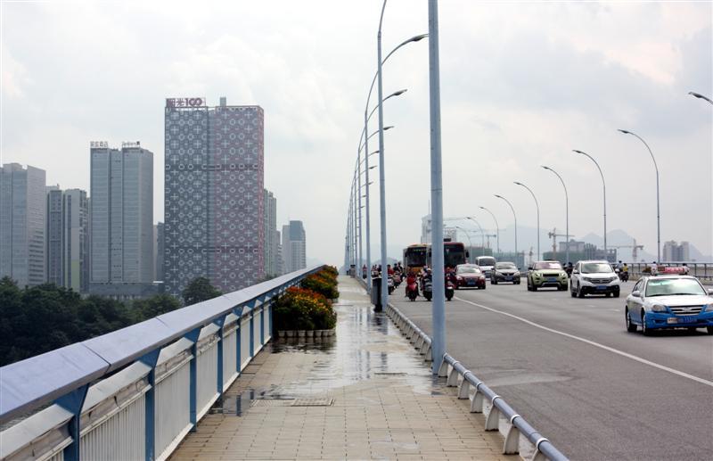 Wenchang Bridge looking east