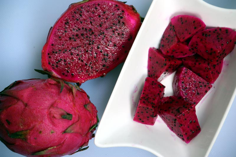 red dragon fruit fruit native to china