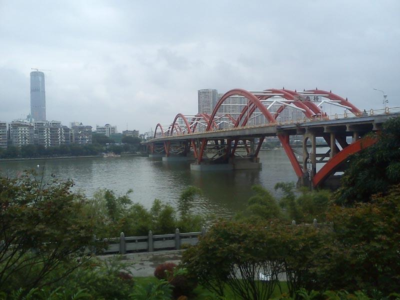 Wenhui Bridge looking north