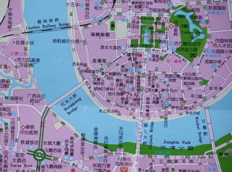 hongguang map