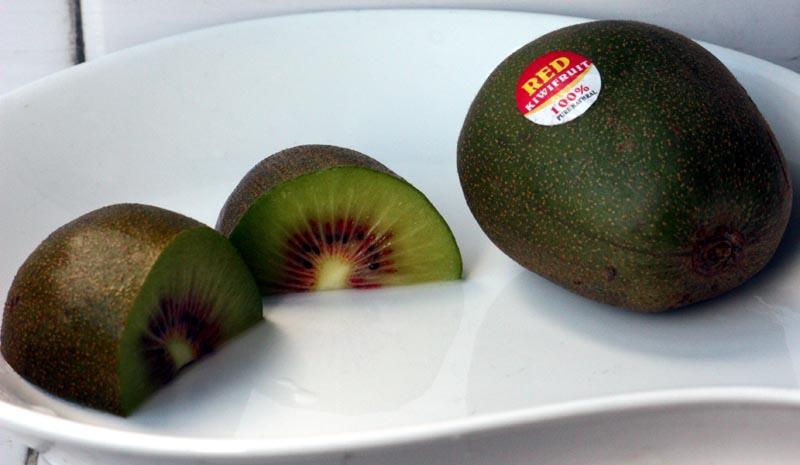 red kiwi fruit