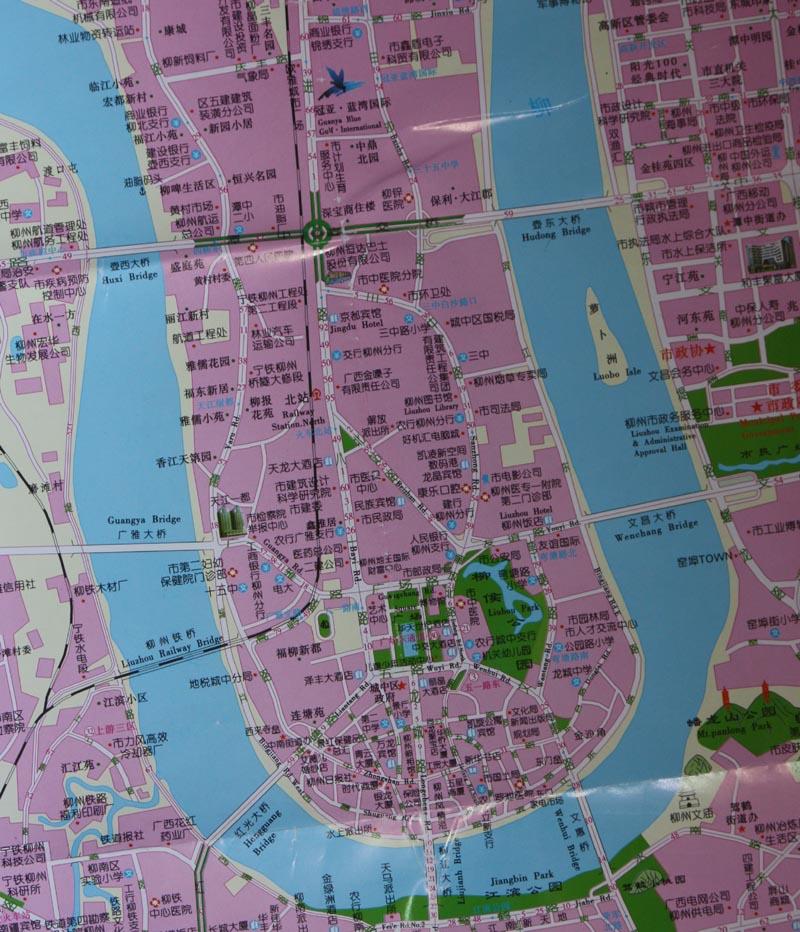 hudong map