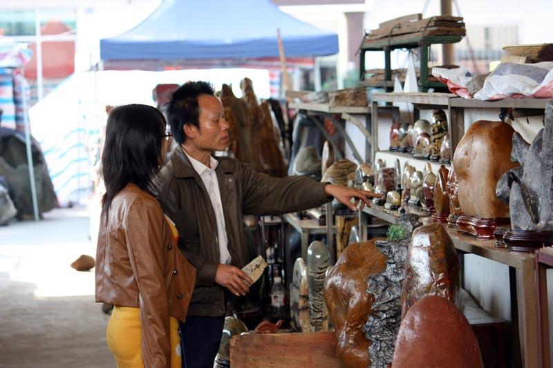 Liuzhou Stone Market